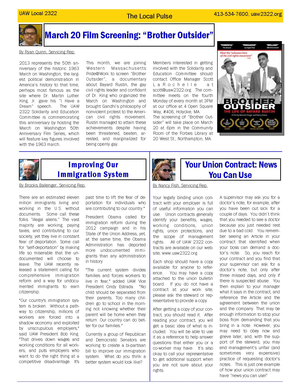 2322 Newsletter March page 2