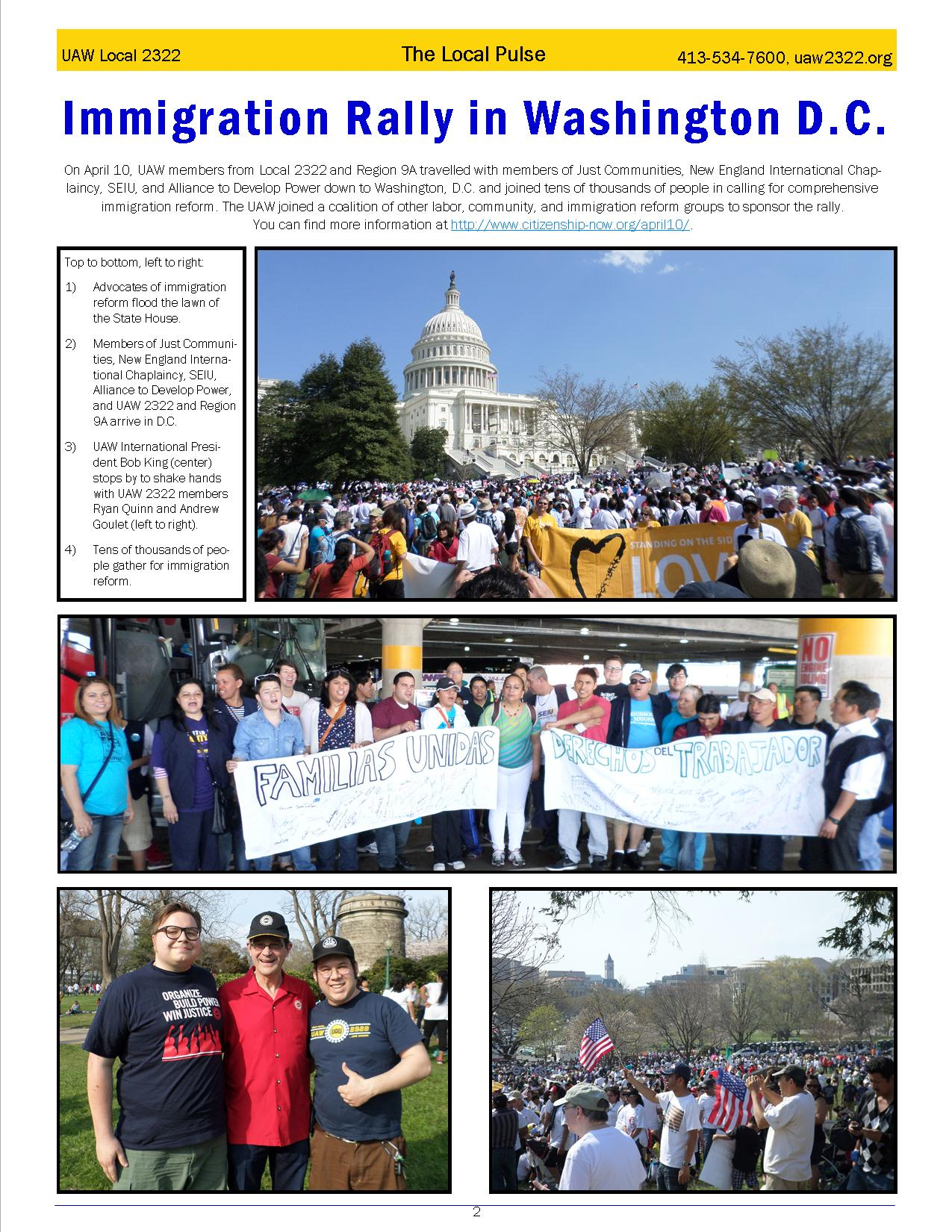 2322 Newsletter May page 2