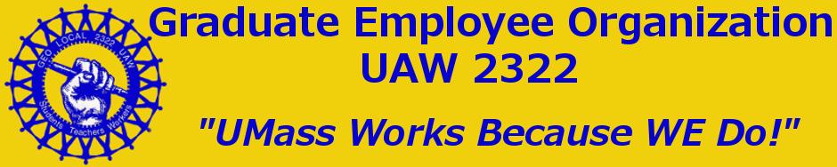 Graduate Employee Organization / UAW 2322